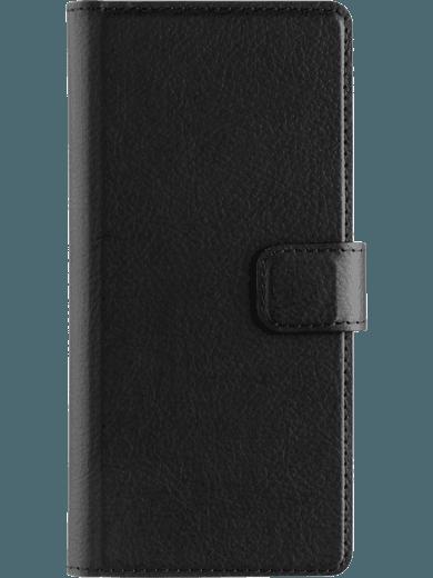 XQISIT Slim Wallet für Sony Xperia XA schwarz