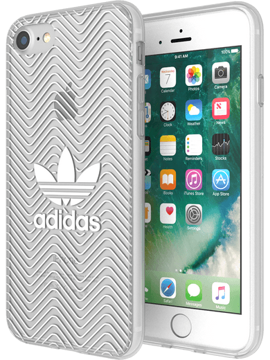 adidas Originals clear case logo für iPhone 6/6s/7/8 transparent