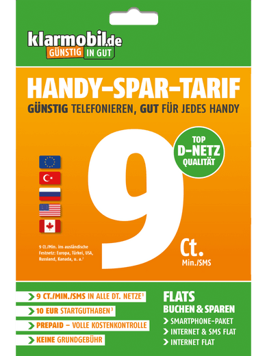 Handy-Spar-Tarif (Prepaid)