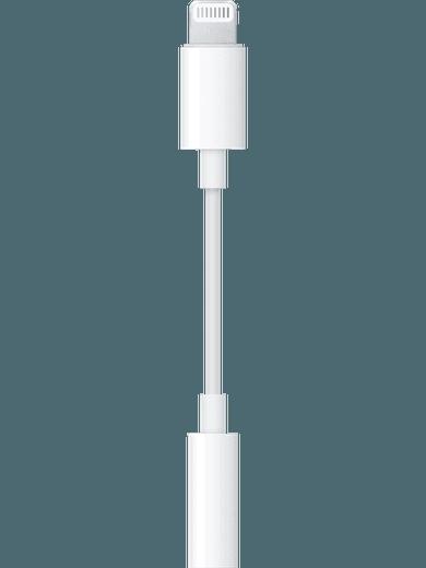 Apple Lightning auf 3,5mm Adapter Weiß