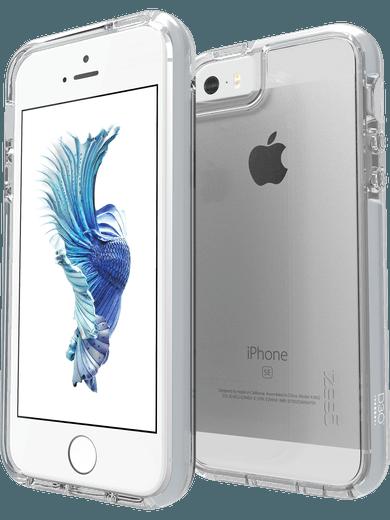 GEAR4 Piccadilly für iPhone 5/5S/SE silber