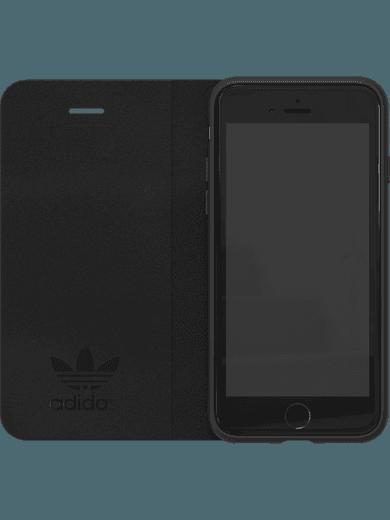 adidas Originals TPU booklet case für iPhone 6/6s/7/8 schwarz