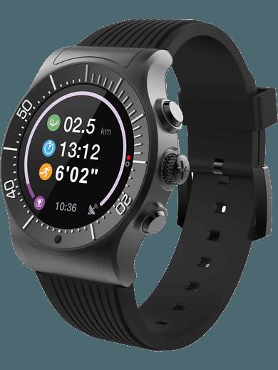 MyKronoz ZeSport Smartwatch schwarz