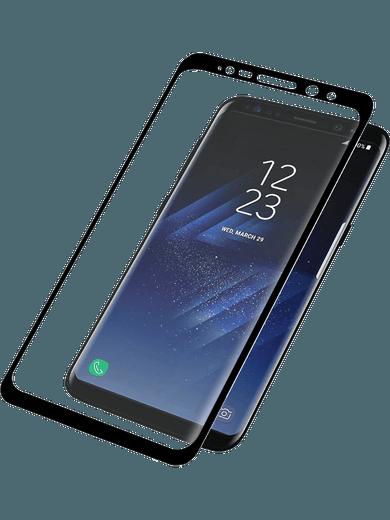 PanzerGlass Premium für Galaxy S8+ schwarz