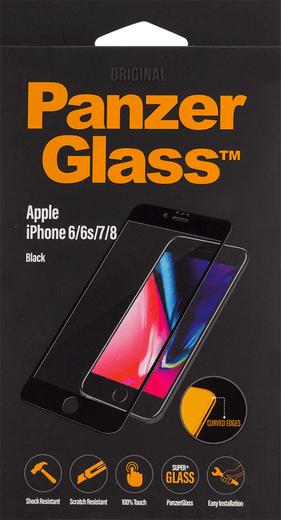 PanzerGlass Premium für iPhone 6/6s/7/8 schwarz