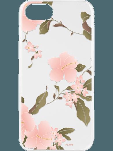 FLAVR iPlate Hibiscus für iPhone 6/6s/7/8 mehrfarbig
