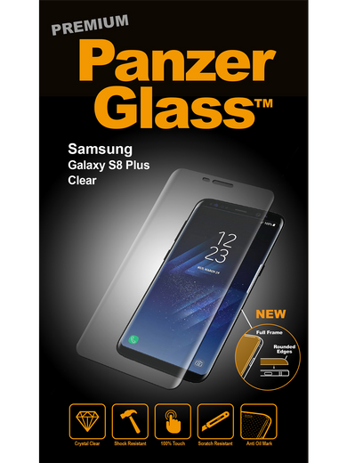 PanzerGlass Premium für Galaxy S8 Plus transparent