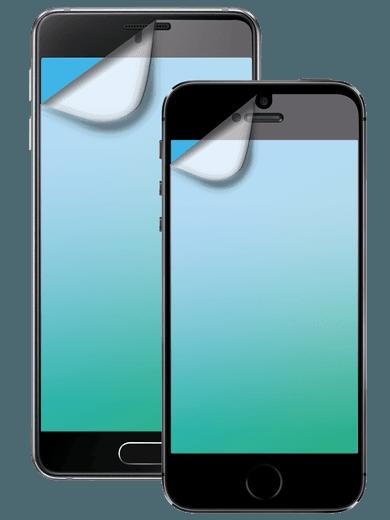 freenet Basics Schutzfolie 2er Set für Galaxy A3 (2017) transparent