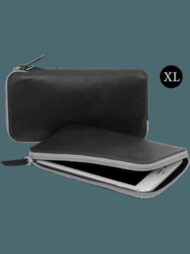 """StilGut Universal sleeve Size XL 6"""" schwarz"""