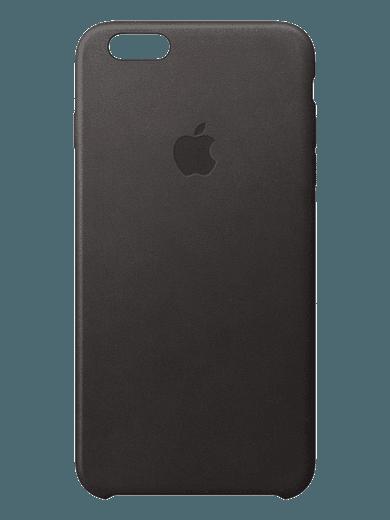 Apple iPhone 6/6s Leder Case schwarz