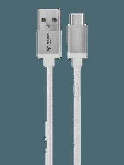 freenet Basics Lade- & Datenkabel USB Typ-C 180cm weiß Vorderseite