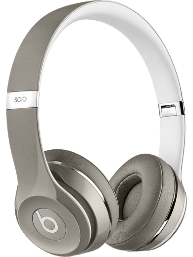 Beats by Dr. Dre Solo 2 On-Ear Headset Silber