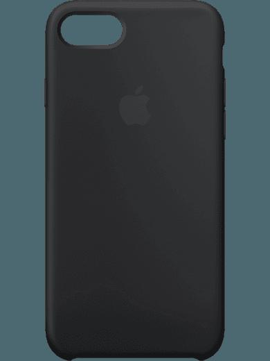 Apple iPhone 6/6s/7/8 Silikon Case Schwarz