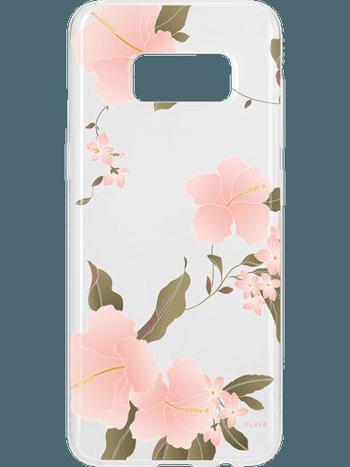 FLAVR iPlate Hibiscus für Galaxy S8