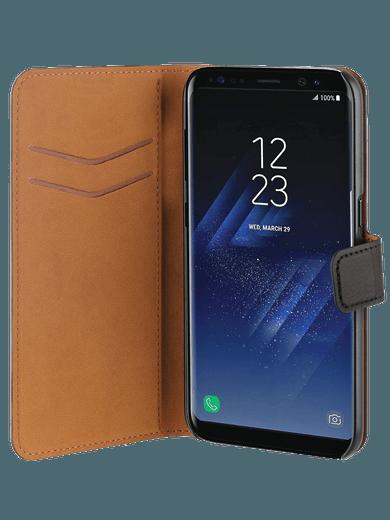 freenet Basics Premium Wallet für Galaxy S8 Schwarz