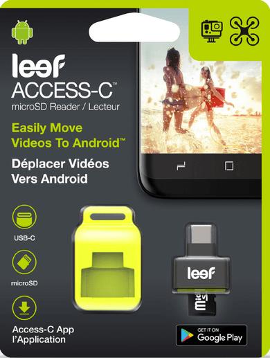 Leef Access-C microSD Card Reader Schwarz