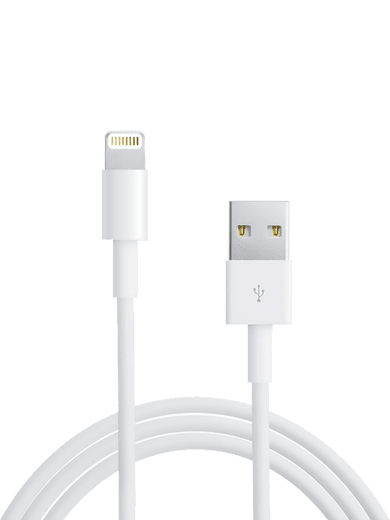 Apple Lightning Kabel 1m Weiß