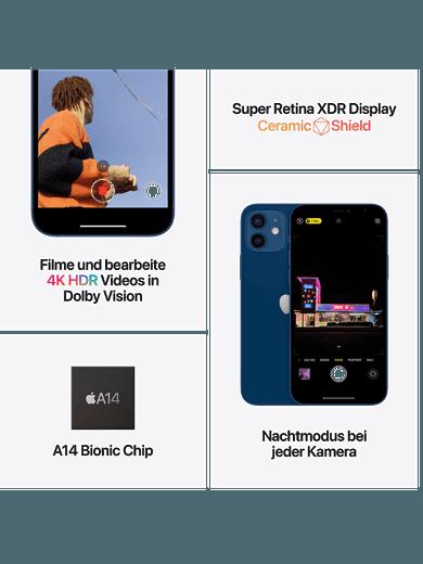 iPhone 12 mini 64GB schwarz